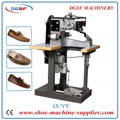 Casual Shoes Moccasin Sewing Machine LX-747C